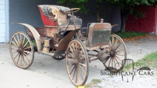 The Invincible Schacht: 1904 Schacht Auto-Runabout