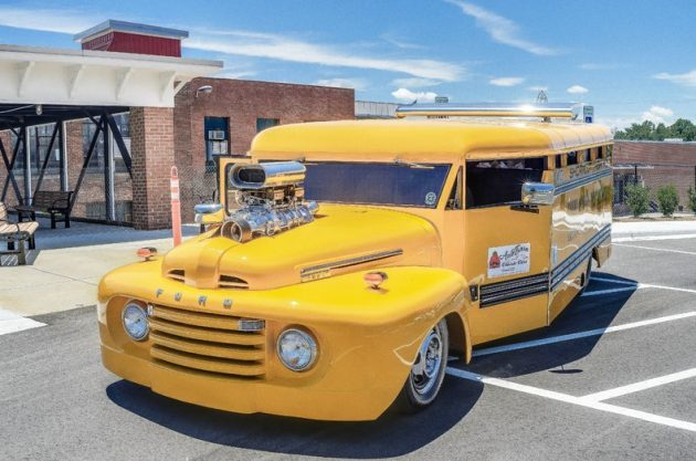 S'cool Bus: 1949 Ford F-6 Custom