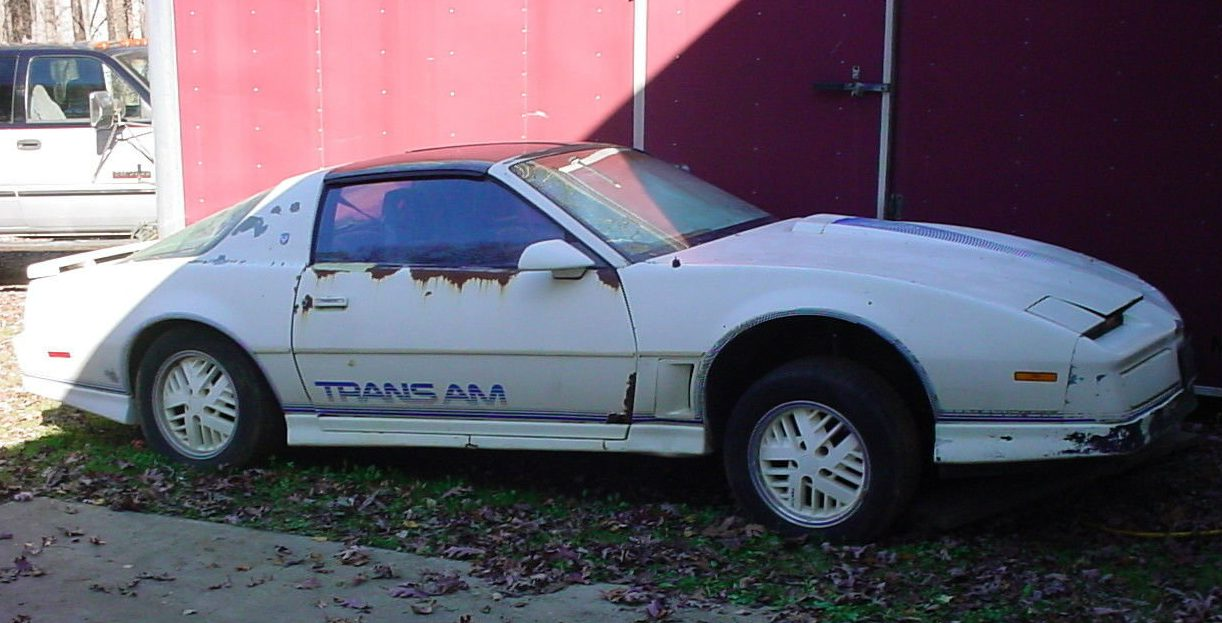Mercedes For Sale >> 1 of 500: 1984 Pontiac Trans Am 15th Anniversary