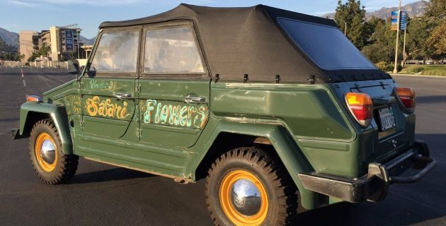 Flower Shop Truck: 1974 VW Thing