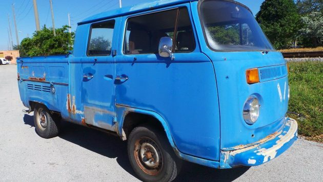 Swedish Barn Find: 1977 VW Transporter