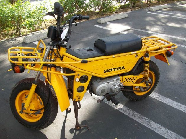 1983 Honda Motra Scooter (craigslist)