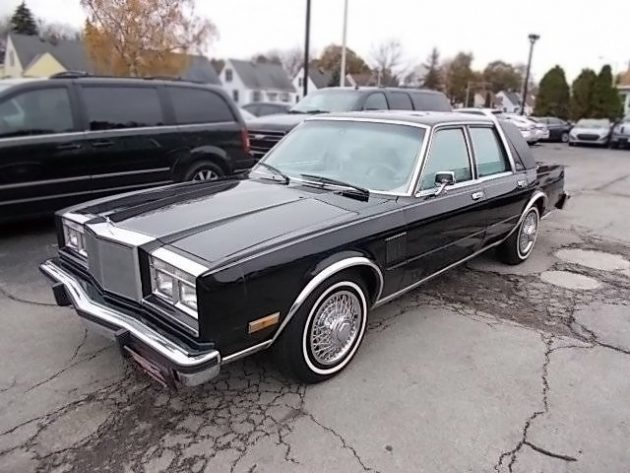 $1,795 No-Brainer: 1985 Chrysler Fifth Avenue