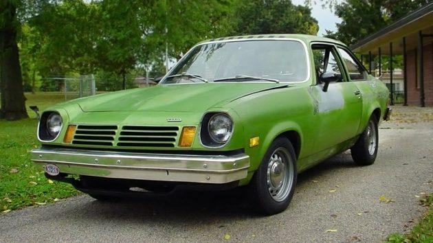 It Ain T Easy Bein Green 1975 Chevrolet Vega