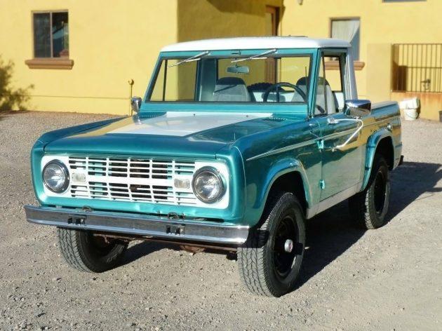 $9,000? 1966 Ford Bronco U14 Half Cab