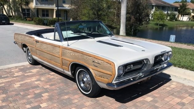 1967 Plymouth Barracuda Convertible Woodie