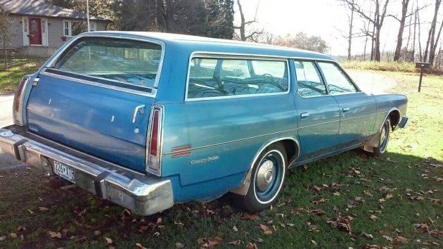 1973 Ford Galaxie 500 Country Sedan Wagon