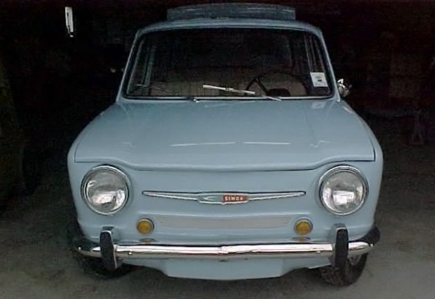 Restored French'talian: 1965 Simca 1000