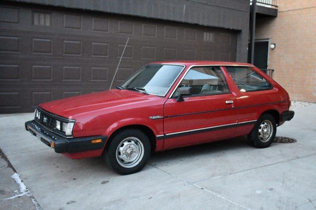 Subaru Hatchback Old >> One-Family Owned: 1985 Subaru GL Hatchback