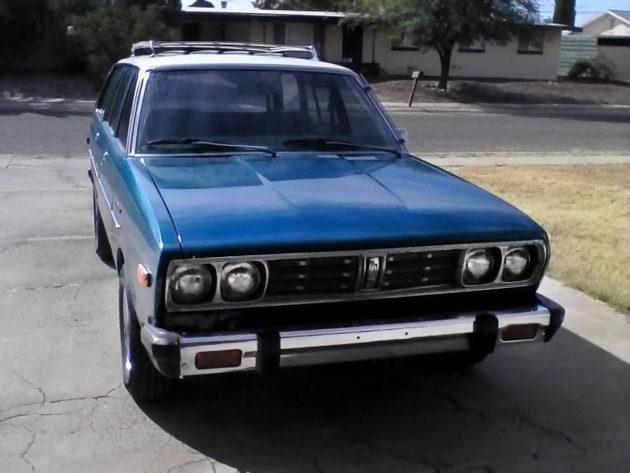 Blue Violet: 1978 Datsun 510 Wagon