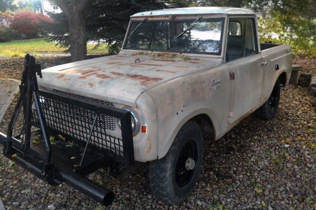 3 500 Scout 1962 International Scout 80