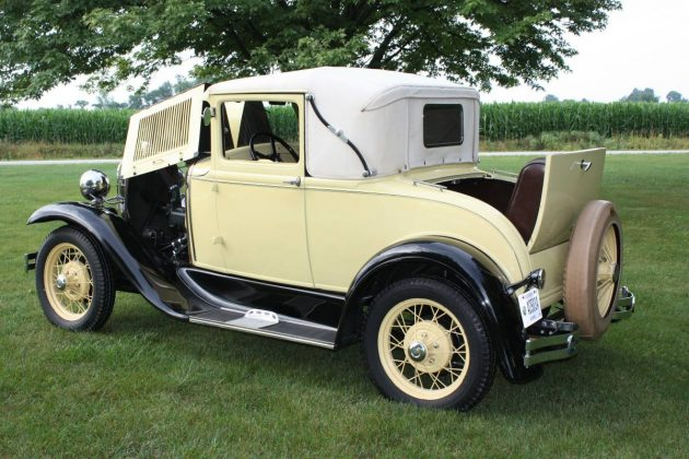 New Year S Resolution 1930 Ford Model A Sport Coupe