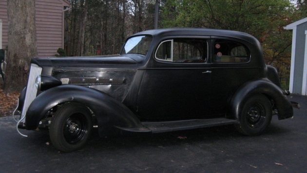 Back in Black! 1937 Packard 115-C Custom
