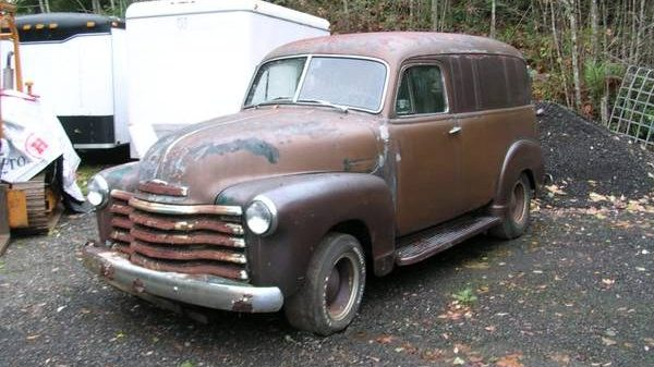 Advertising Age: 1951 Chevrolet Panel Truck