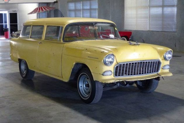 Old Yeller: 1955 Chevrolet 150 Wagon