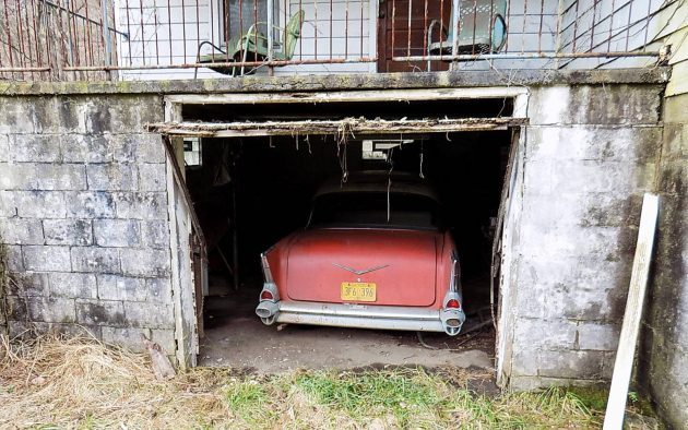 Parked Under The House: 1957 Chevrolet 210