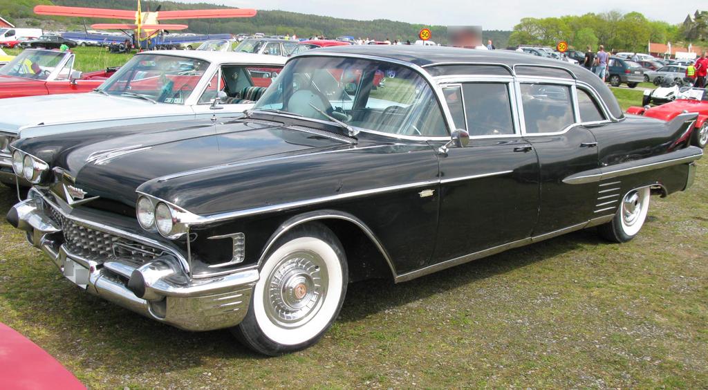 Mogul Mover: 1958 Cadillac Fleetwood Limousine