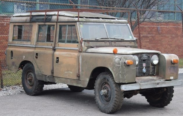Last Registered in '88! 1959 Land Rover Series II Station Wagon