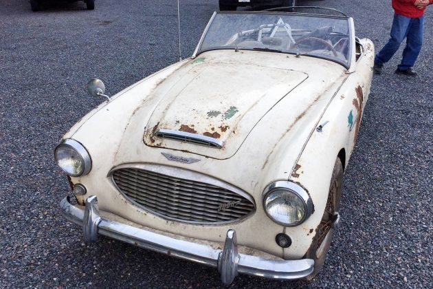 Stored In '69: 1960 Austin Healey 3000