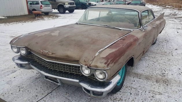 Fins For Miles: 1960 Cadillac Coupe DeVille