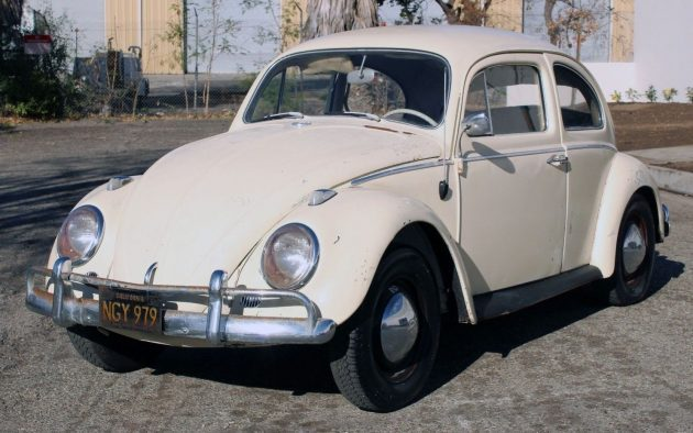 Parked 35 Years Ago: 1962 Volkswagen Beetle