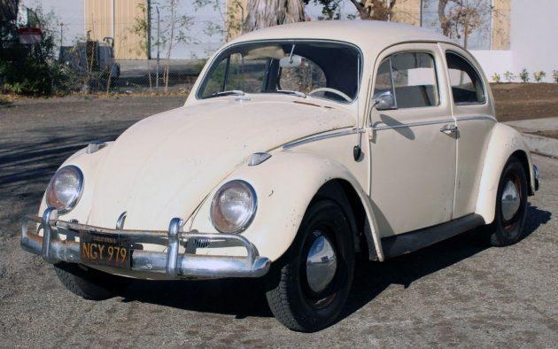 Parked 35 Years Ago: 1962 Volkswagen Beetle