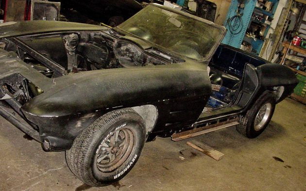Stalled L76 Project: 1964 Corvette Convertible