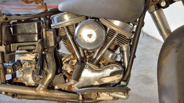 Perfect Project 1965 Harley Davidson Panhead