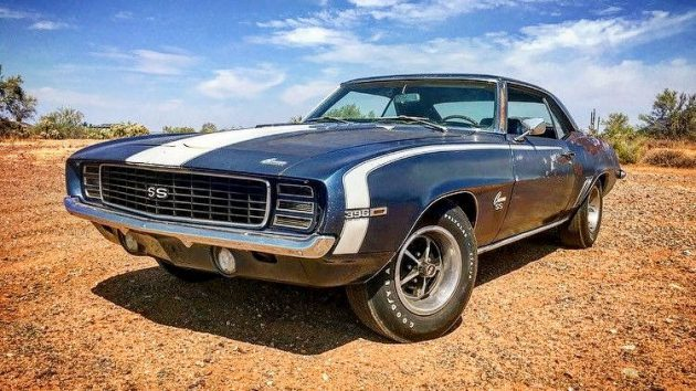 America On Wheels! 1969 Chevrolet Camaro 396