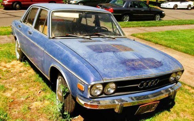 Original Owner: 1971 Audi 100LS