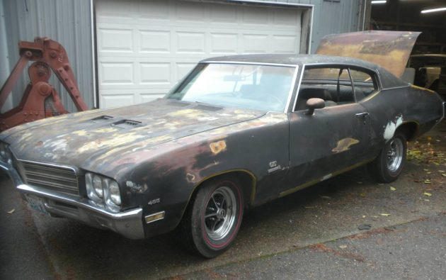 Stored 30 Years! 1971 Buick GS 455 Four-Speed