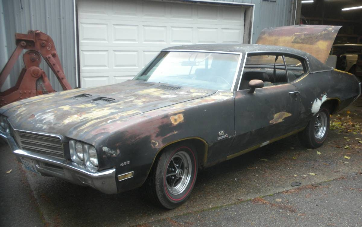 Stored 30 Years 1971 Buick Gs 455 Four Speed
