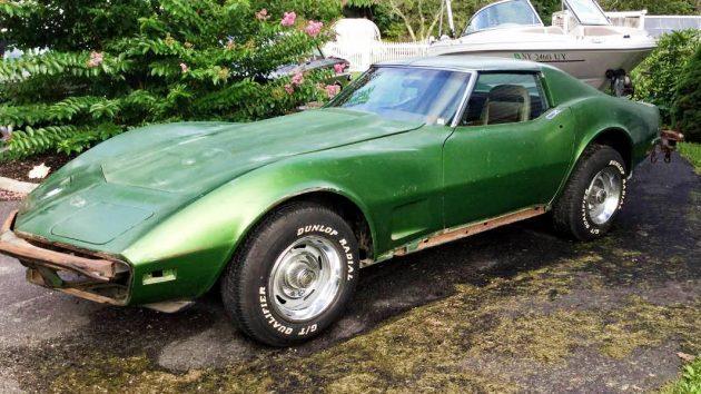 Paused Project: 1973 Corvette L82