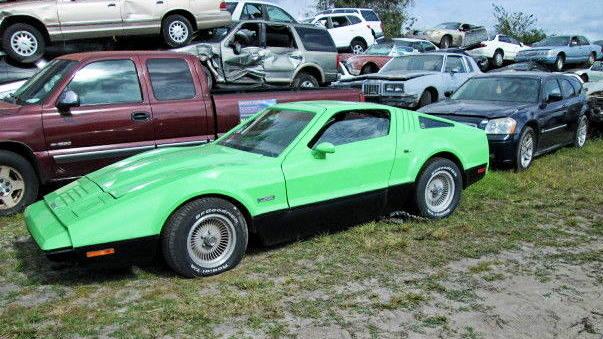 Safely In A Junkyard: 1974 Bricklin SV-1
