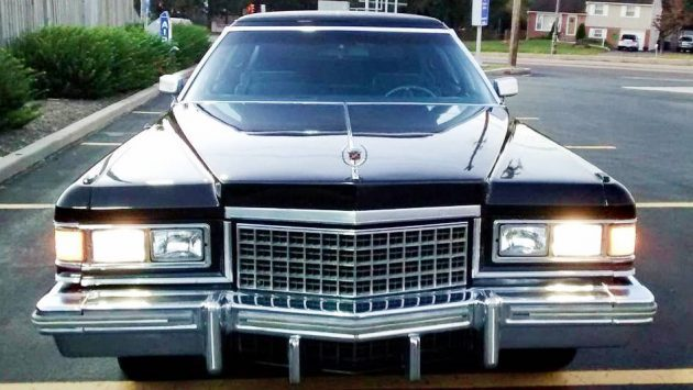Money Laundering: 1976 Cadillac Fleetwood