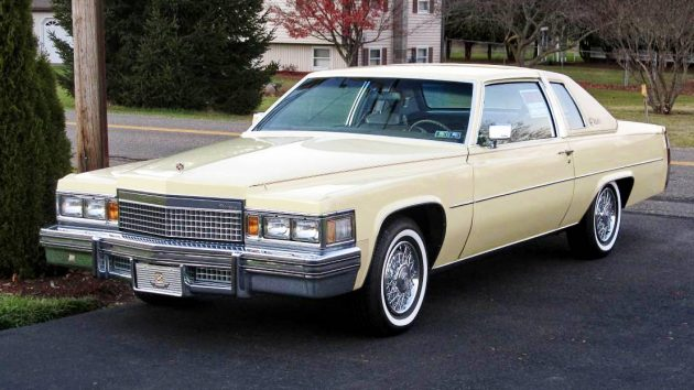 Only 4 500 Miles 1979 Cadillac Coupe Deville
