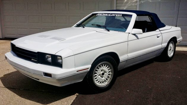 BF EXCLUSIVE: 1985 ASC/McLaren Capri Convertible