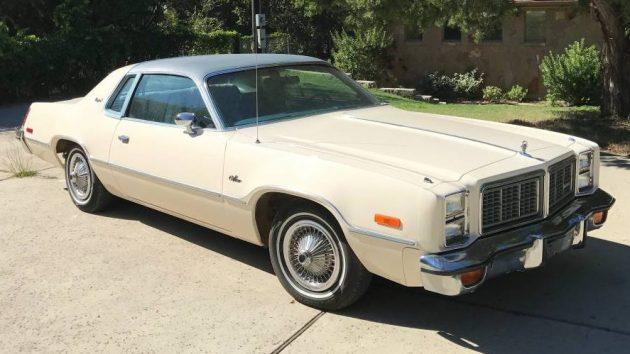 Plaid Brougham 1977 Dodge Monaco