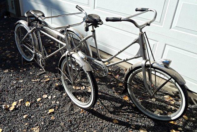 Deco Pair: Hawthorne Duralium Bicycles