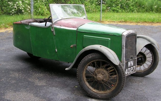 Time To Recycle? 1931 BSA Family Four Cycle Car