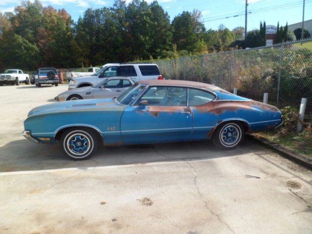 True 442 1972 Oldsmobile Cutlass Project