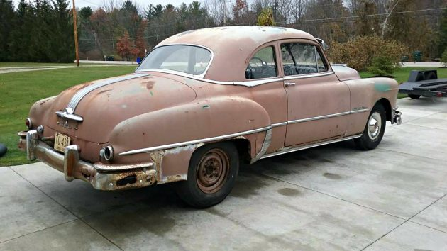 Affordably Sleek 1950 Pontiac Silver Streak