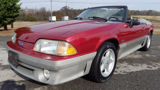 Fine 5 0 1992 Ford Mustang Gt With 55k Miles