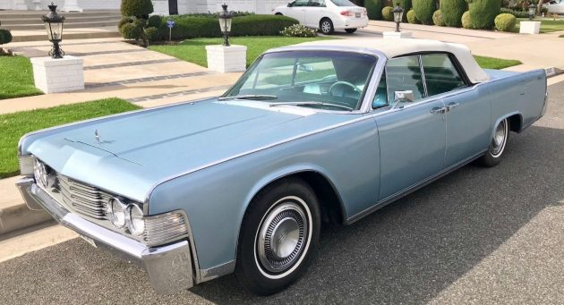Behind Door Two 1965 Lincoln Continental Convertible