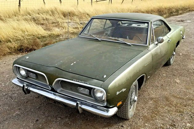 Desert Fish: 1969 Plymouth Barracuda