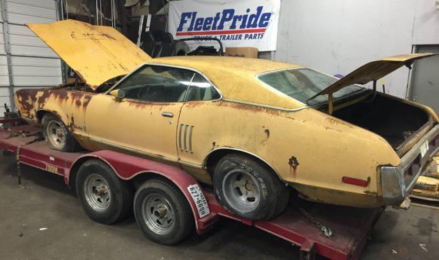 Malaise Muscle: 1973 Mercury Montego GT
