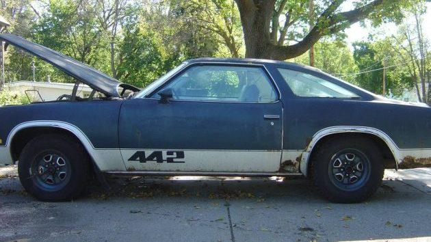 Colonade Muscle 1977 Oldsmobile 442