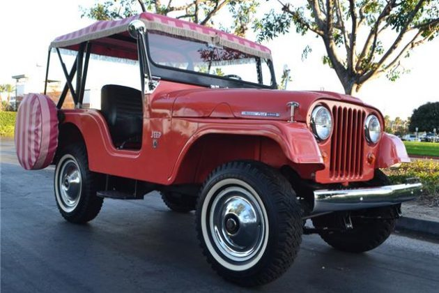 Feeling Fancy: 1966 Jeep Tuxedo Park Mark IV