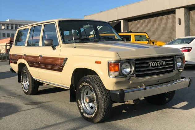 Sweet Stripes: 1986 Toyota Land Cruiser