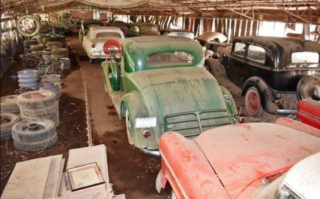 60 Classics Found In Georgia Barn!